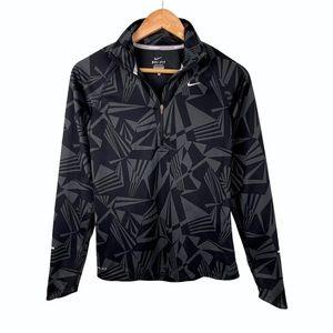 Nike Black Dri-Fit Quarter Zip